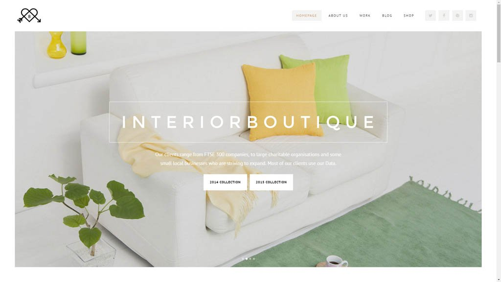 Pune Website Designs Interior Designer Website Design Demo