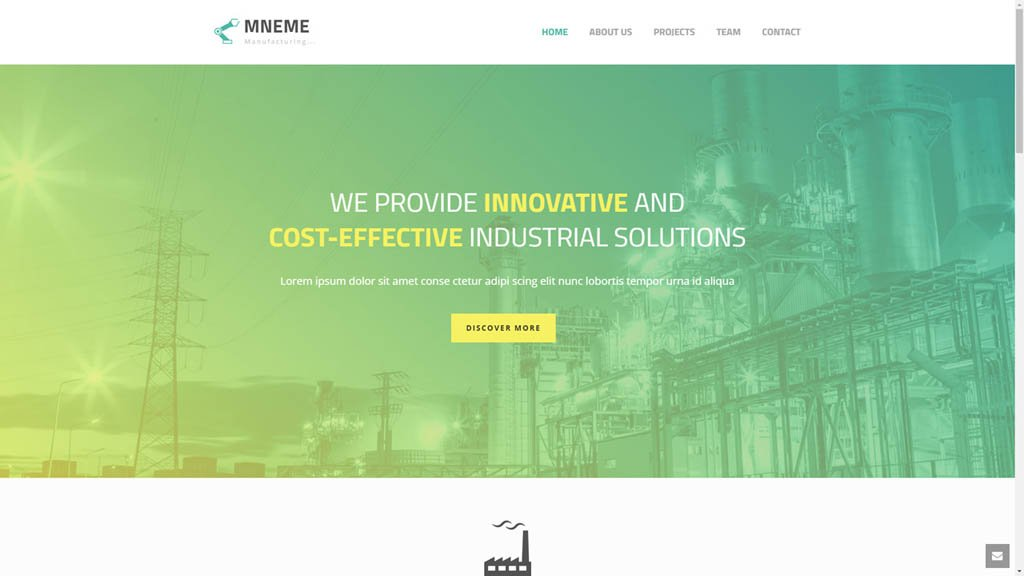 Pune Website Designs Manufacturing Company Website Demo Pune Website Designs