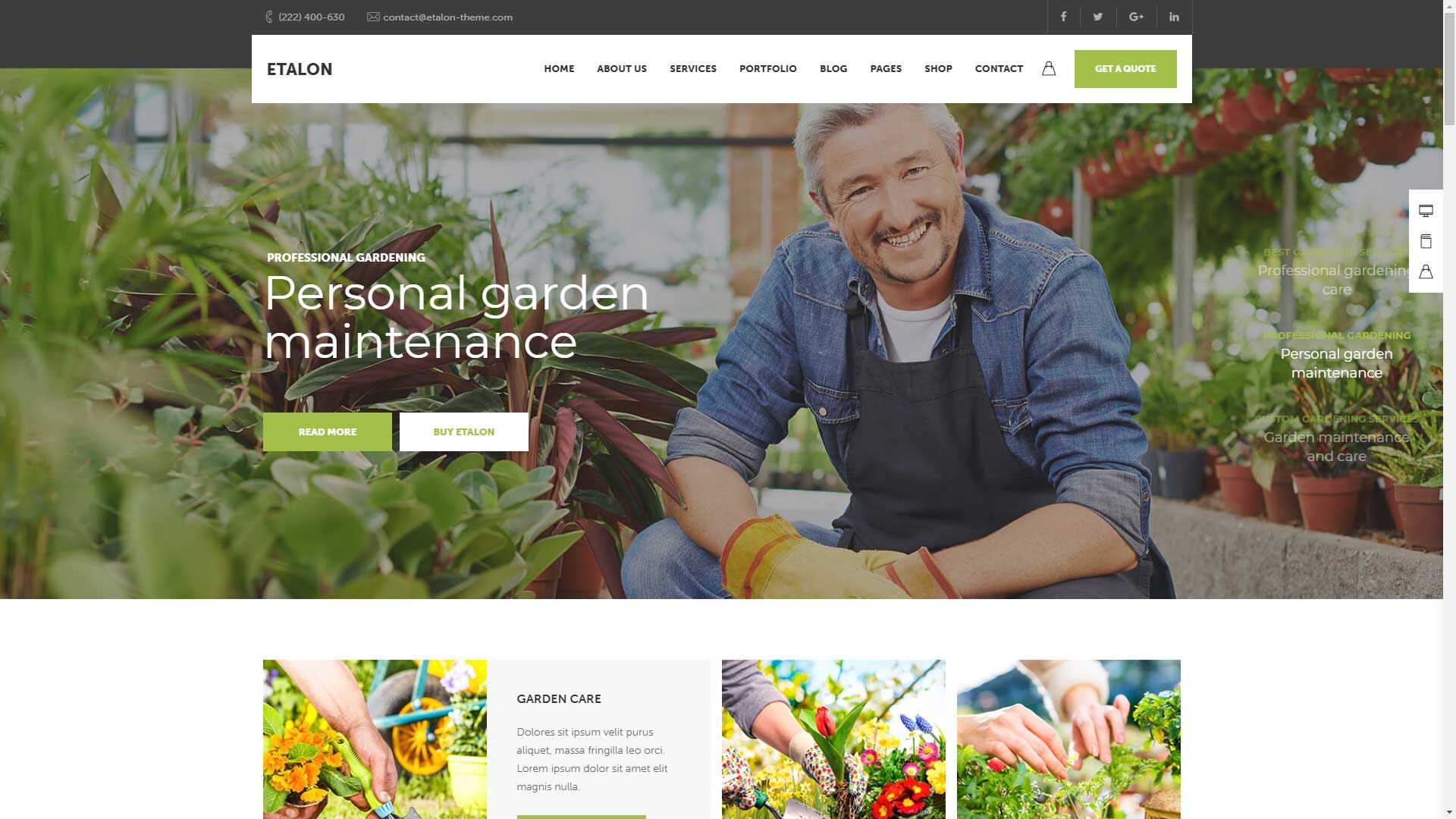 Pune-Website-Designs-Gardeners-Landscaping-Website-Design-Demo